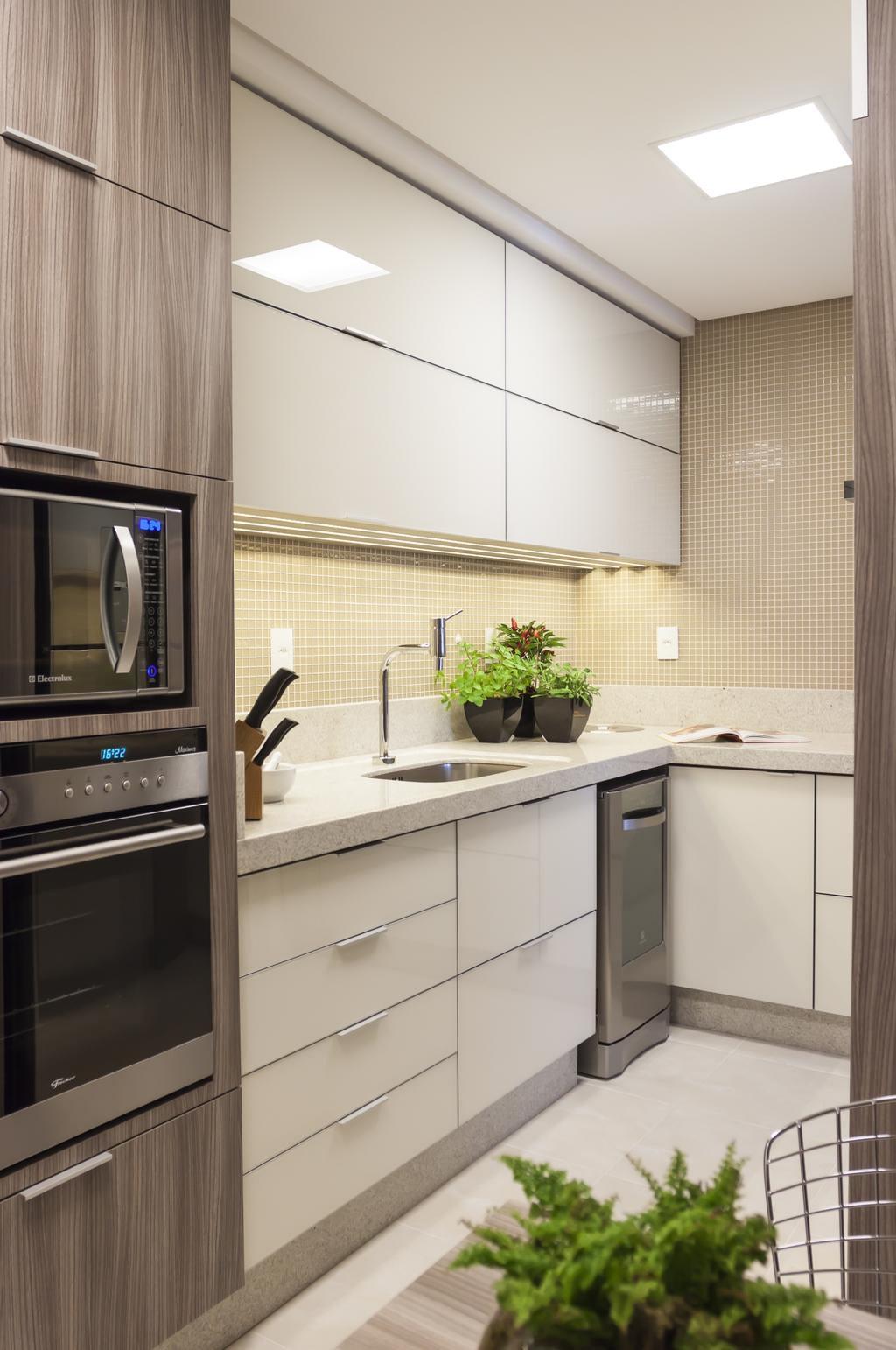Cozinhas De Apartamento Modernas Cozinha Sob Medida Modernas Terra