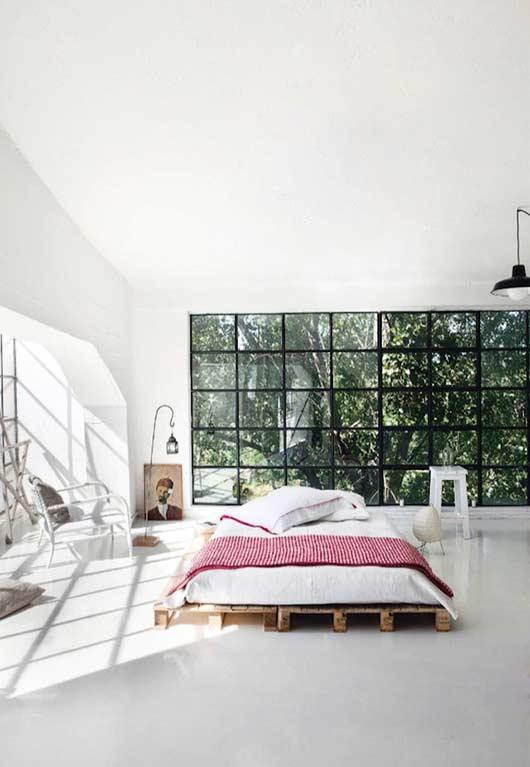 Para uma decoração minimalista