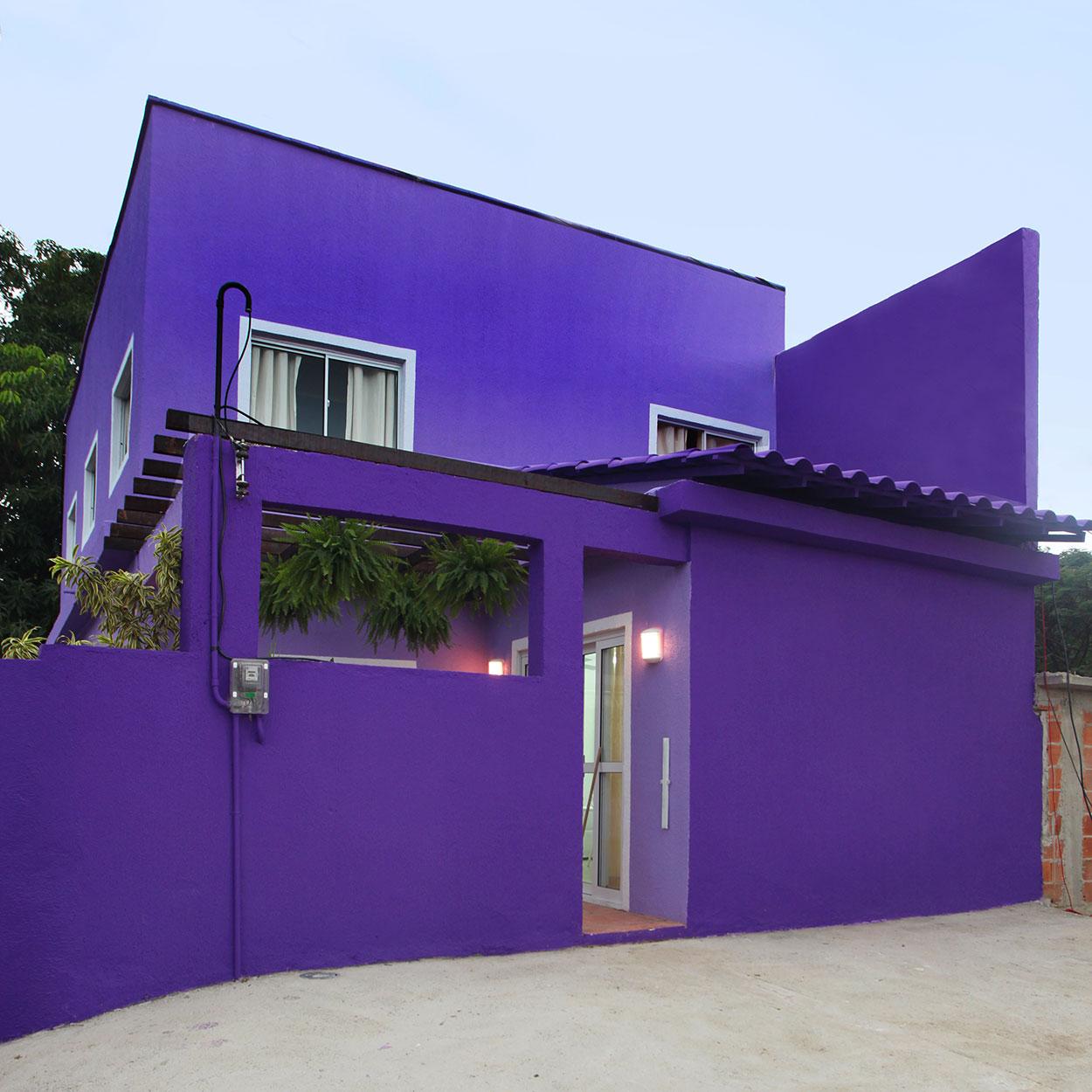 Cores de casas tend ncias e fotos para pintura externa for Casas modernas pintadas