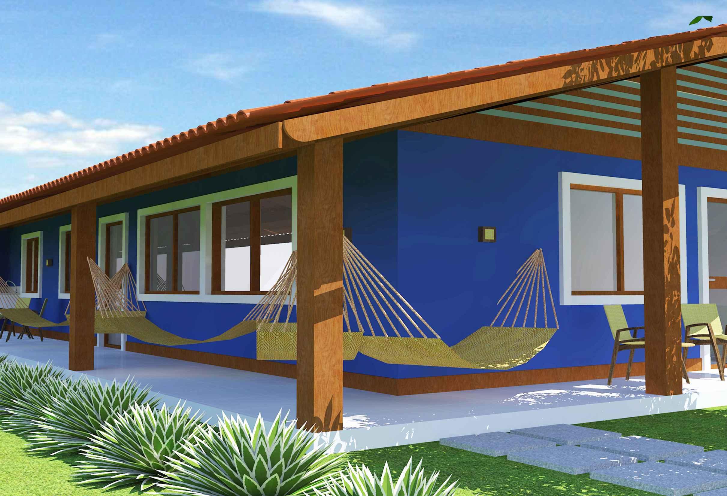 Well-known Cores de Casas: Tendências e Fotos para Pintura Externa JP19