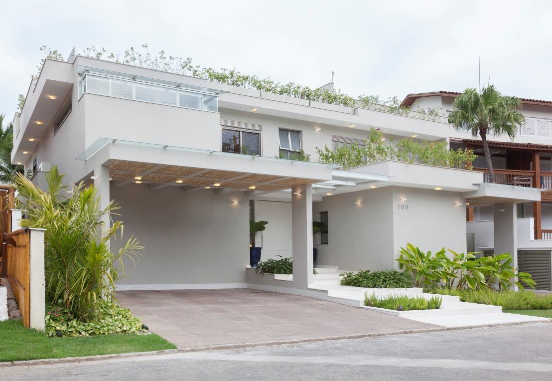 Cores de casas tend ncias e fotos para pintura externa for Casa moderna 44 belvedere