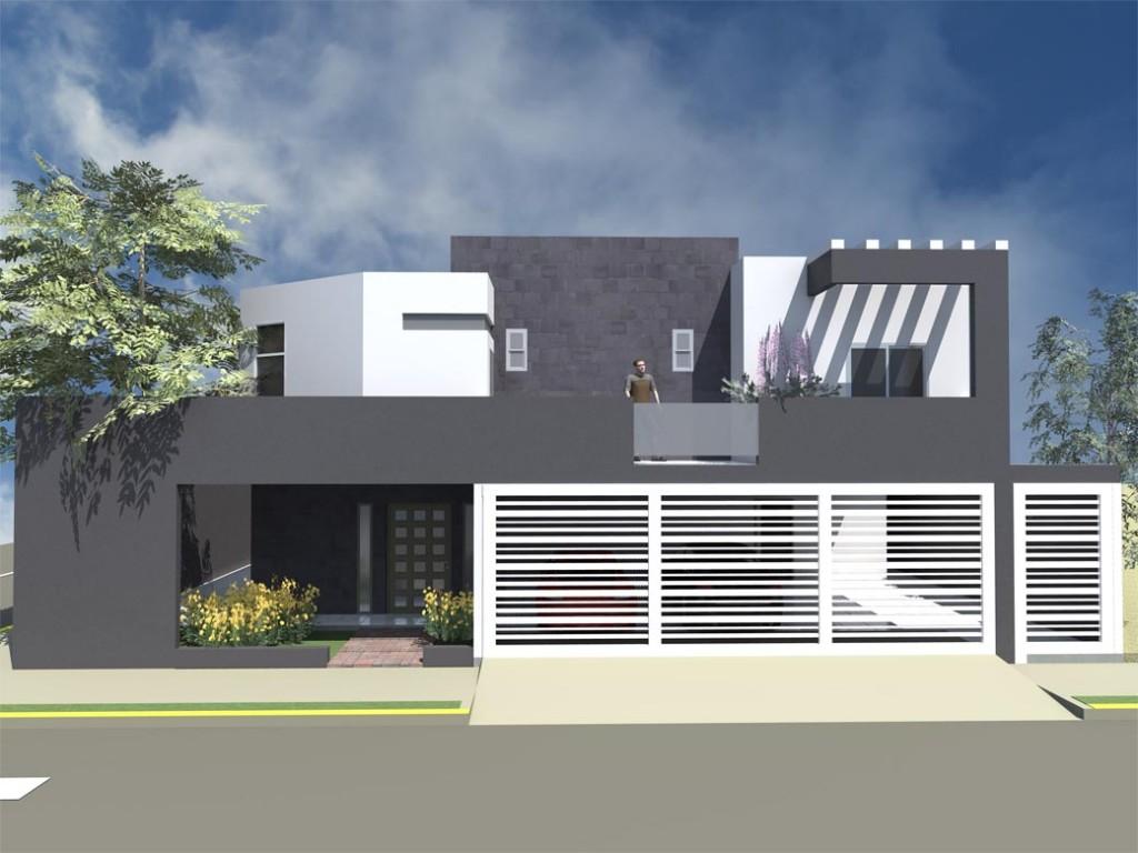 Cores de casas tend ncias e fotos para pintura externa - Pintar entrada piso ...