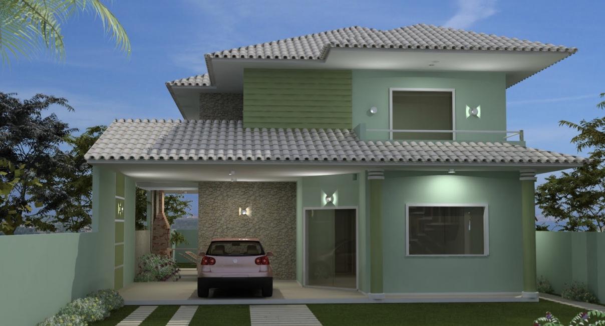 cores de casas tend ncias e fotos para pintura externa