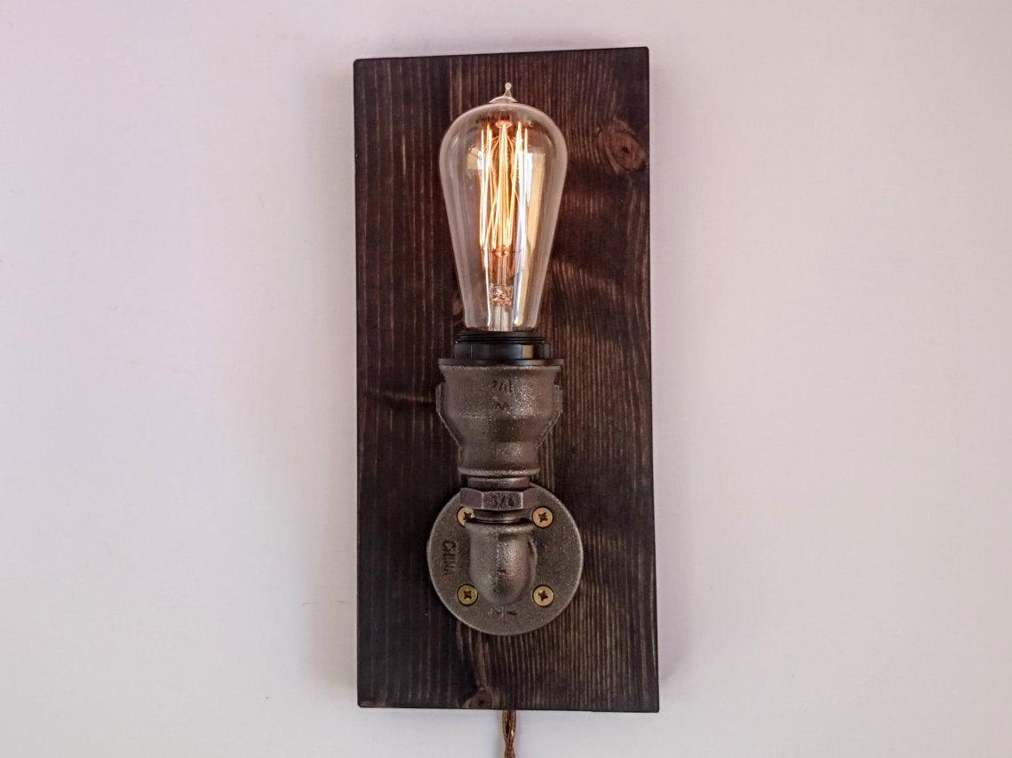 Suficiente Luminária Rústica: 72 Modelos e Como Fazer Passo a Passo RM14