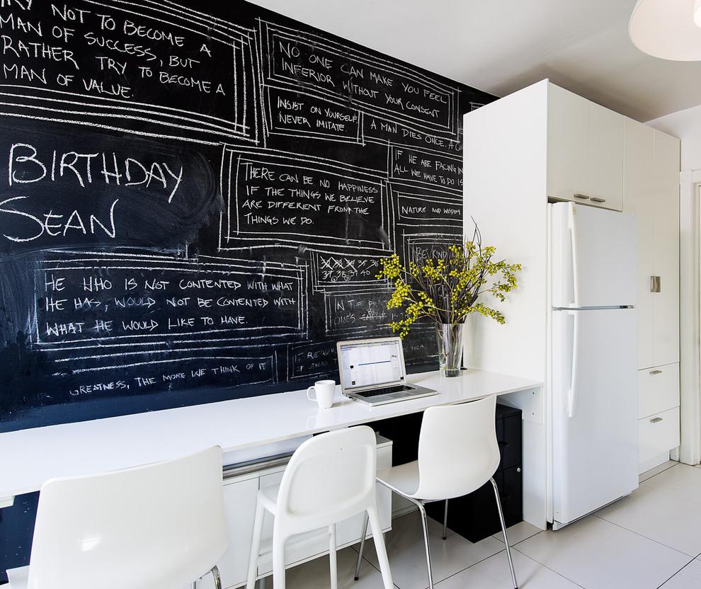 parede lousa 84 ideias fotos e como fazer passo a passo. Black Bedroom Furniture Sets. Home Design Ideas