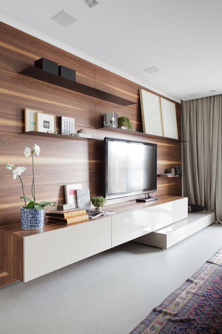 Sala planejada 60 ideias de decora o fotos e projetos for Sala design moderno