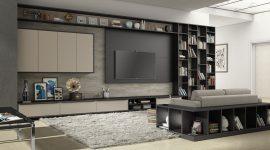 Sala planejada: 60 ideias de decoração, fotos e projetos