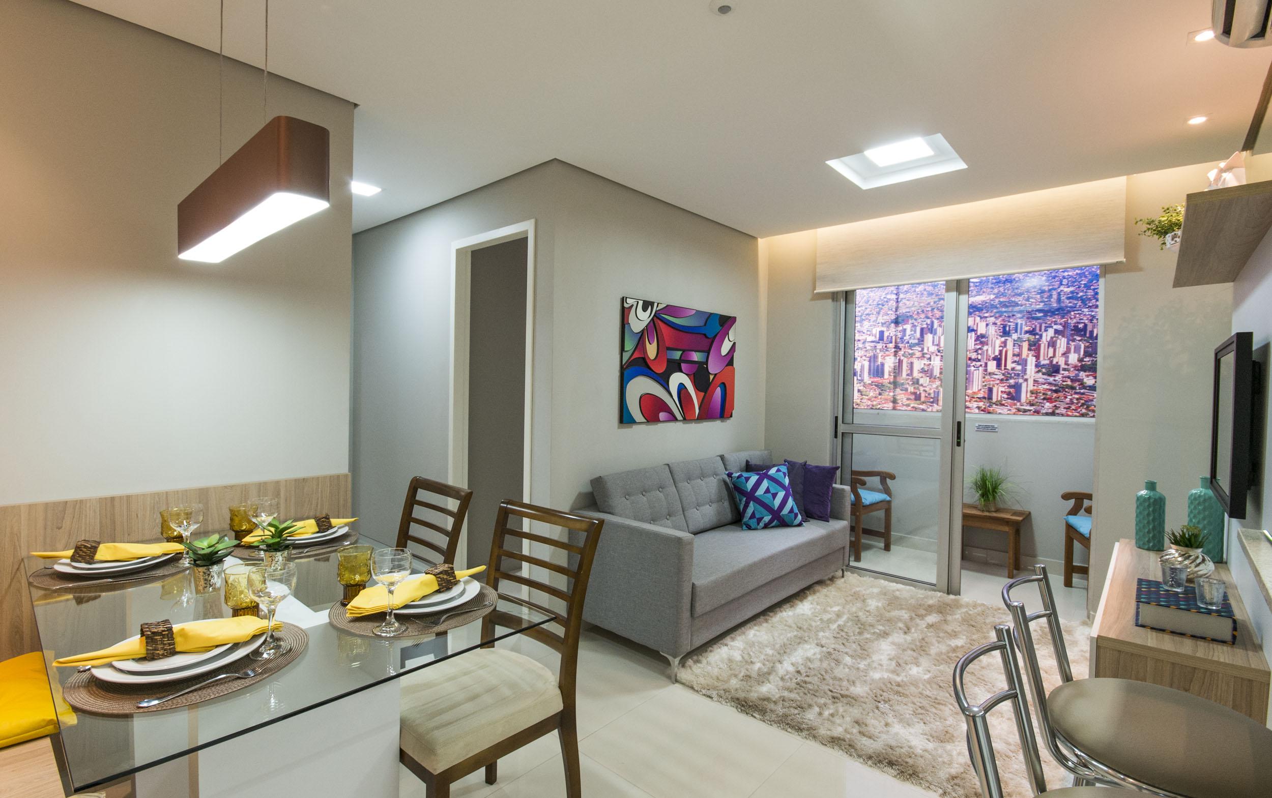 Decora O De Apartamento 60 Ideias Com Fotos E Projetos -> Apartamento Mrv Decorado Fotos