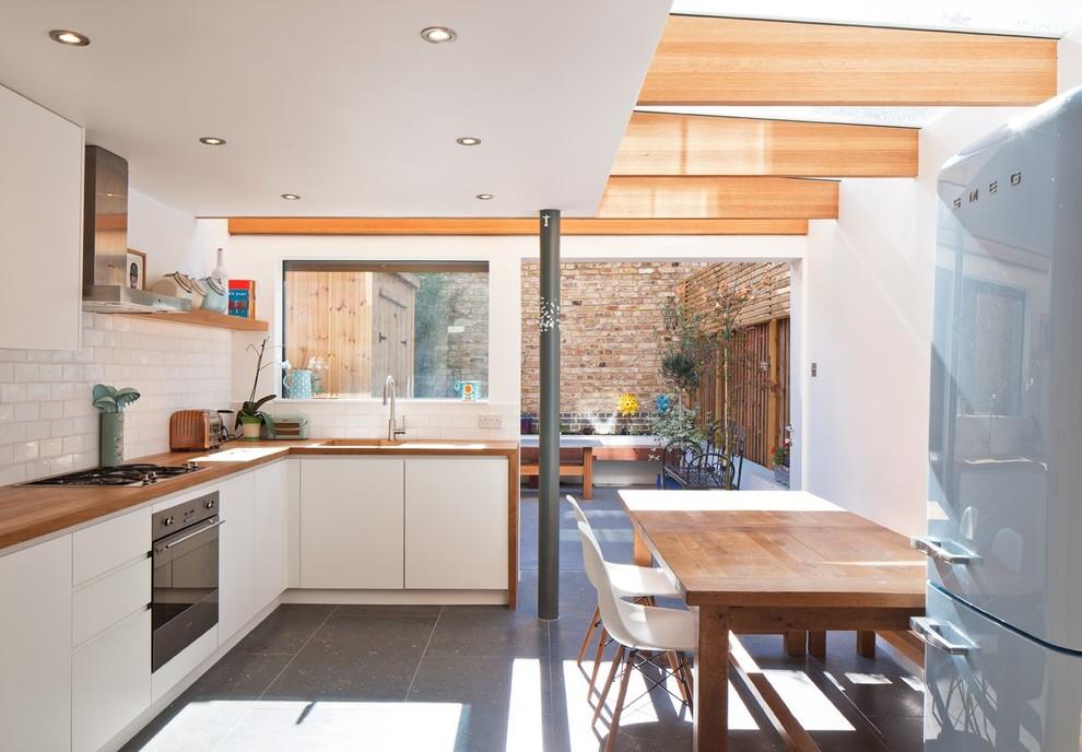 Projeto de cozinha com acesso a área externa