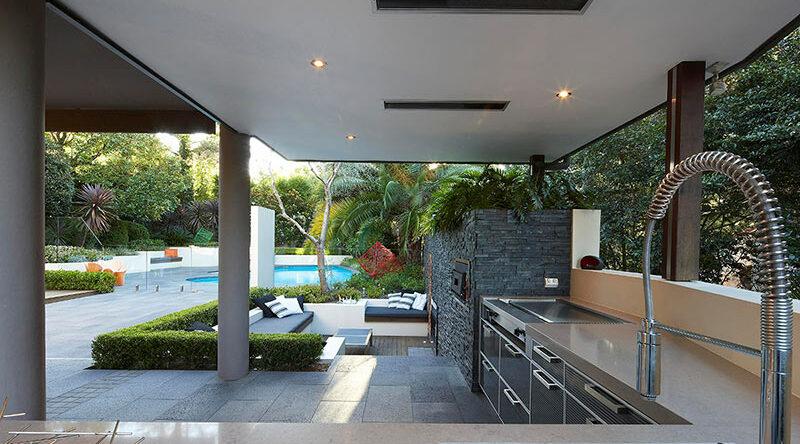 Cozinha externa: 45 ideias de decoração com fotos