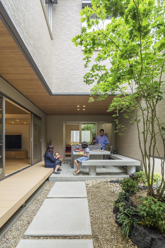 Um projeto moderno com inspiração na arquitetura japonesa