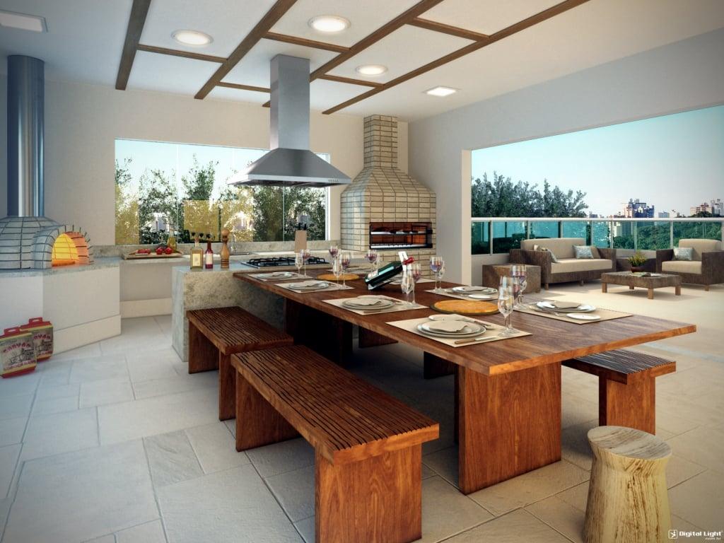 Cozinha Externa 45 Ideias De Decora O Com Fotos
