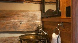 Banheiro rústico: 55 ideias e projetos de decoração para se inspirar