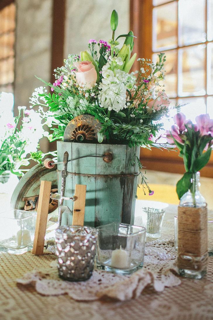 Casamento r stico 80 ideias de decora o fotos e diy for Centro de mesa rustico