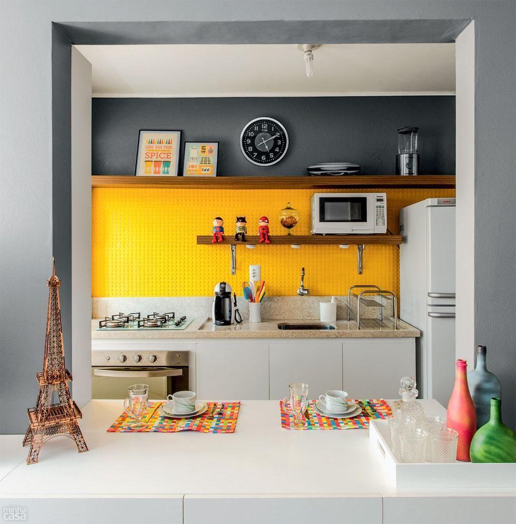 Cozinha Americana Simples E Pequena Veja Tambm With Cozinha