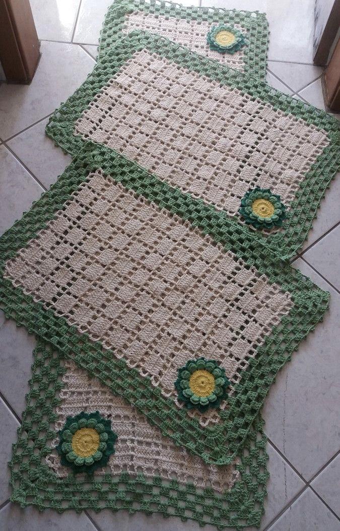 Jogo De Cozinha De Croche 63 Fotos Graficos E Passo A Passo
