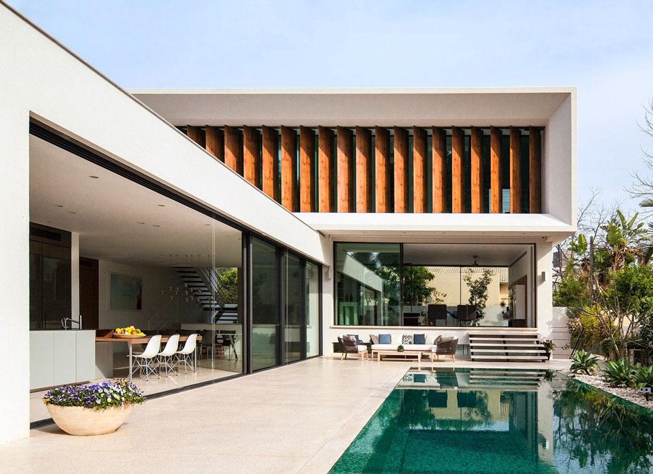 Casas em l 63 projetos com plantas e fotos para se inspirar for Casas en ele modernas