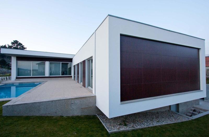 Casas em l 63 projetos com plantas e fotos para se inspirar for Casa moderna open