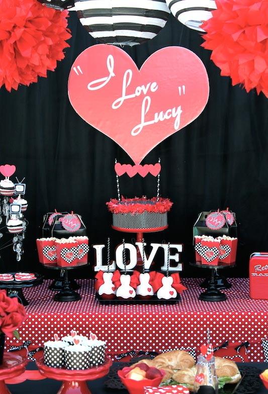 Festa baseada na série de grande sucesso dos anos 50: I Love Lucy.