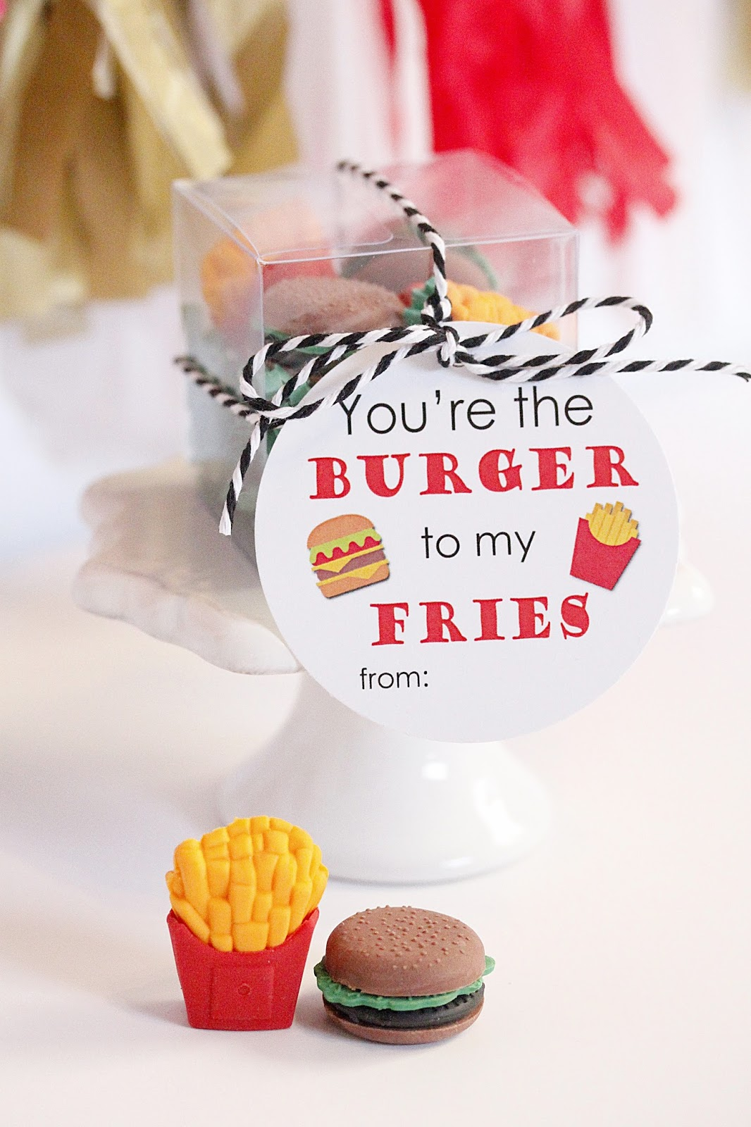 Feitos um para o outro: você é o hambúrguer das minhas fritas!