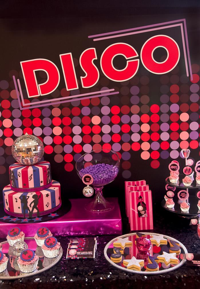 Mais uma decoração de festa anos 70 para animar o seu dia!