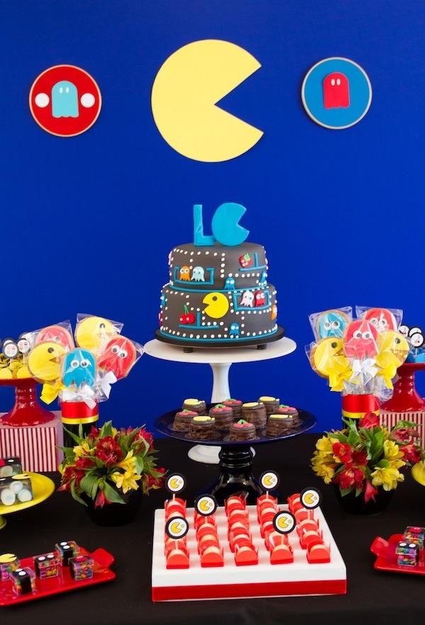 A festa infantil tema Pac-Man cai como uma luva!