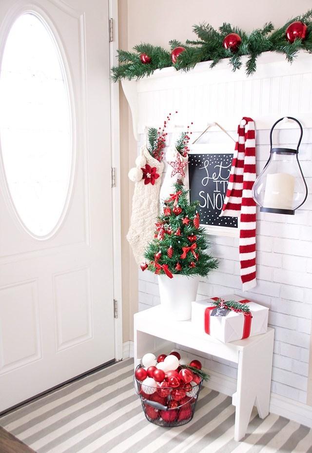 Enfeites de Natal: para todos entrarem com o pé-direito!