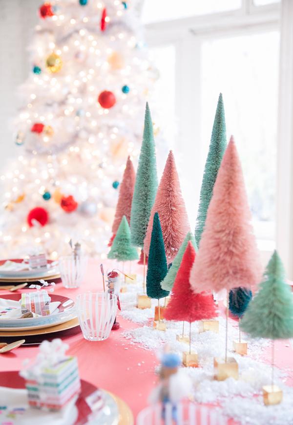 Arranjos de mesa de Natal