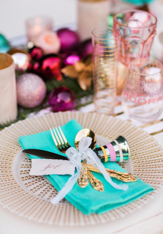 Enfeites de Natal para mesa fáceis de fazer