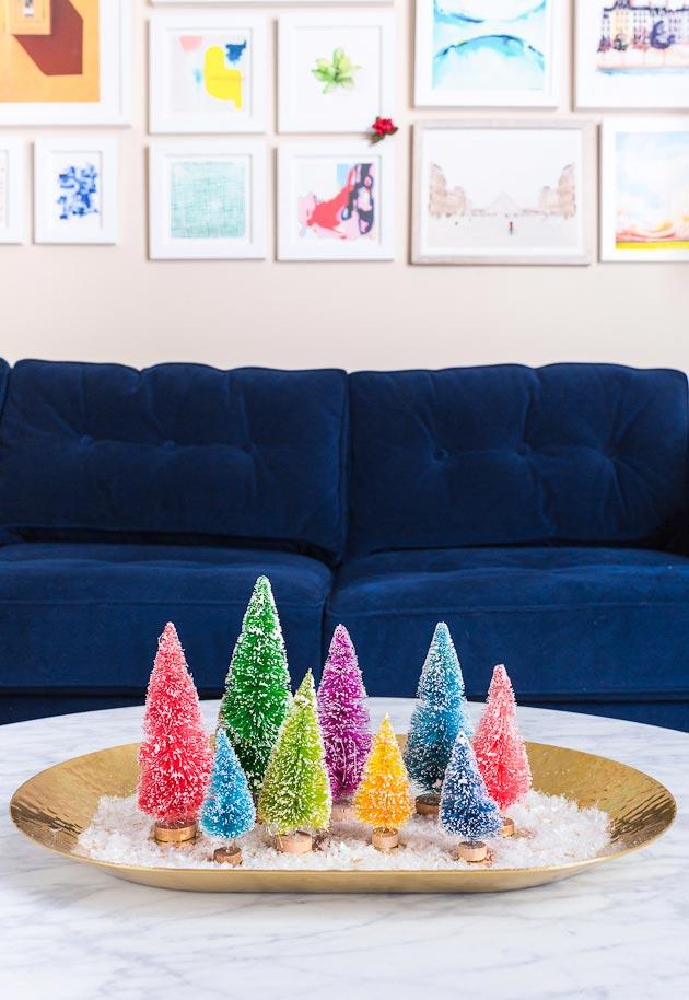 Enfeites de Natal para sala