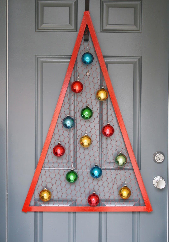 Ding-dong: enfeites de Natal para portas de entrada