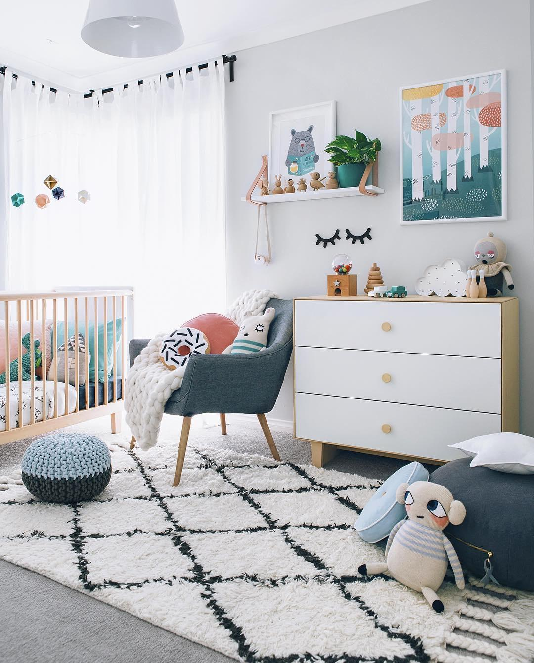 Cores Para Quarto De Beb 48 Ideias Fotos E Inspira Es ~ Como Decorar Quarto De Bebe Menina