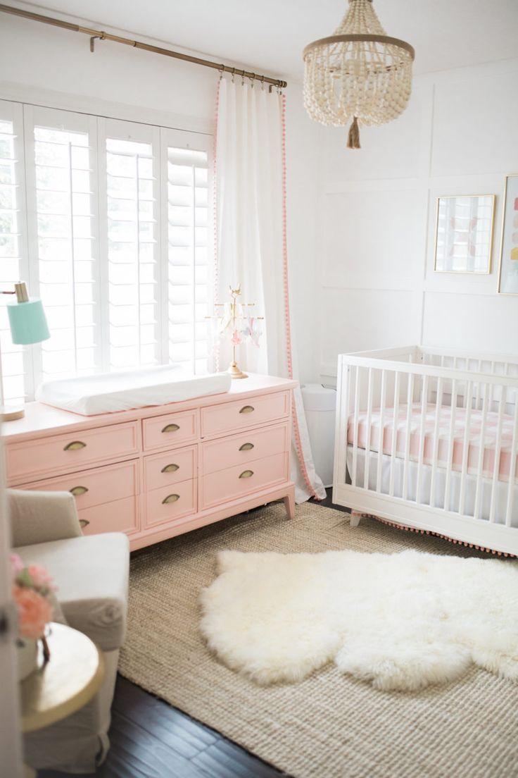 Cores Para Quarto De Beb 48 Ideias Fotos E Inspira Es ~ Parede Para Quarto De Bebe Feminino