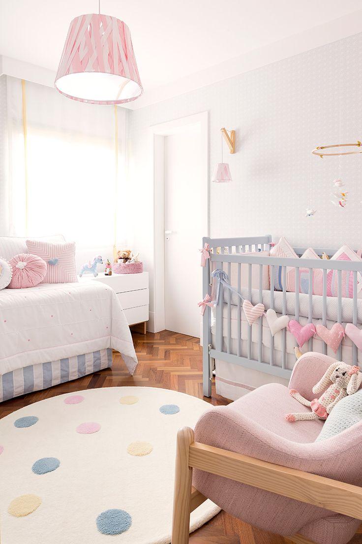 Cores para quarto de beb 65 ideias fotos e inspira es - Habitacion para bebe ...