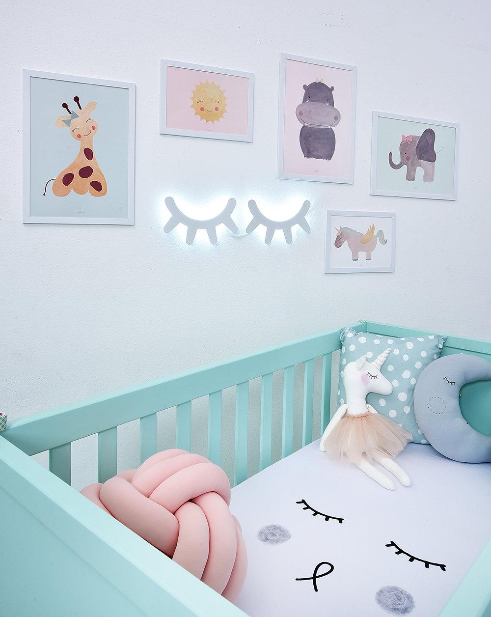 Cores Para Quarto De Beb 48 Ideias Fotos E Inspira Es ~ Decoração De Quarto De Menina Bebê