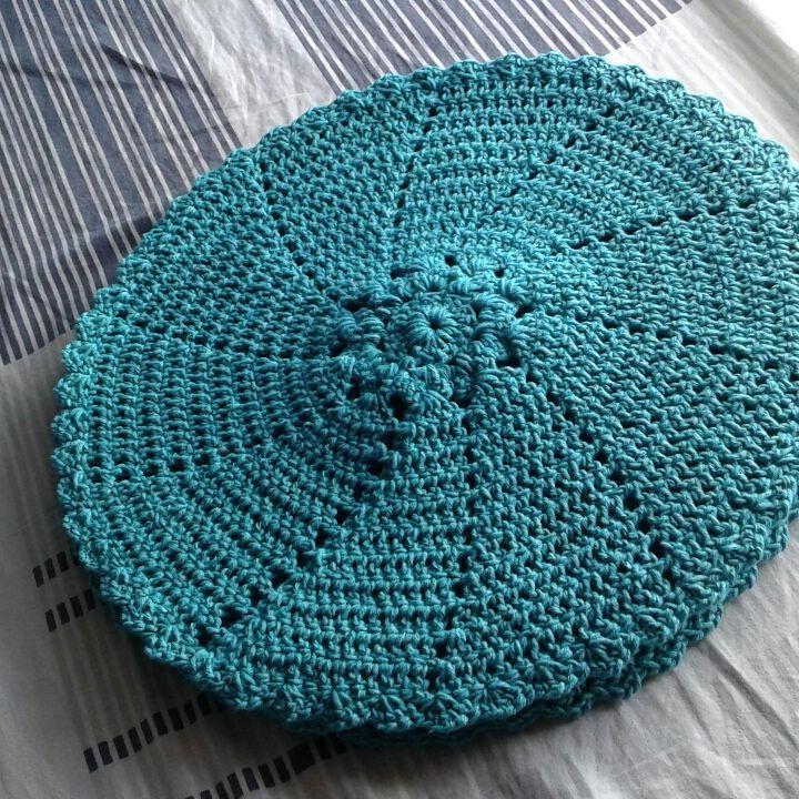 50 tons de azul para o seu crochê