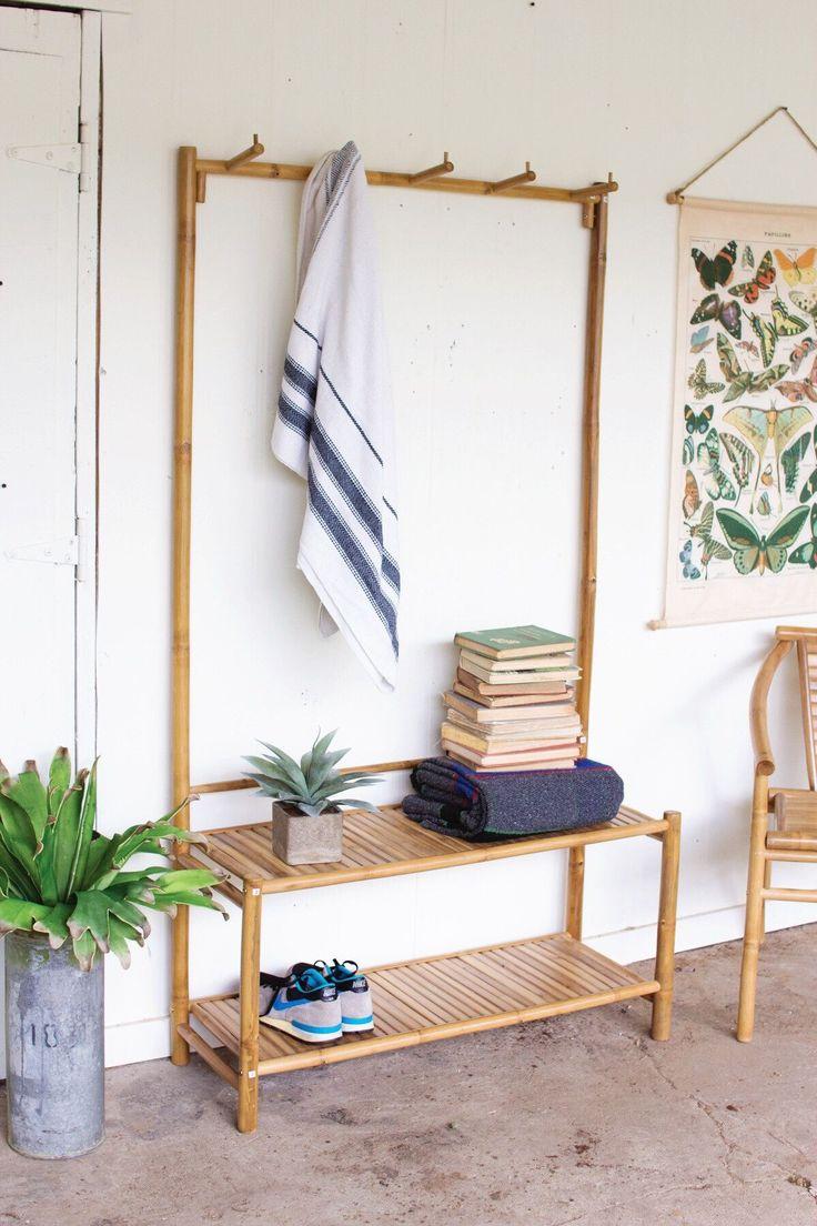 Móvel versátil de bambu