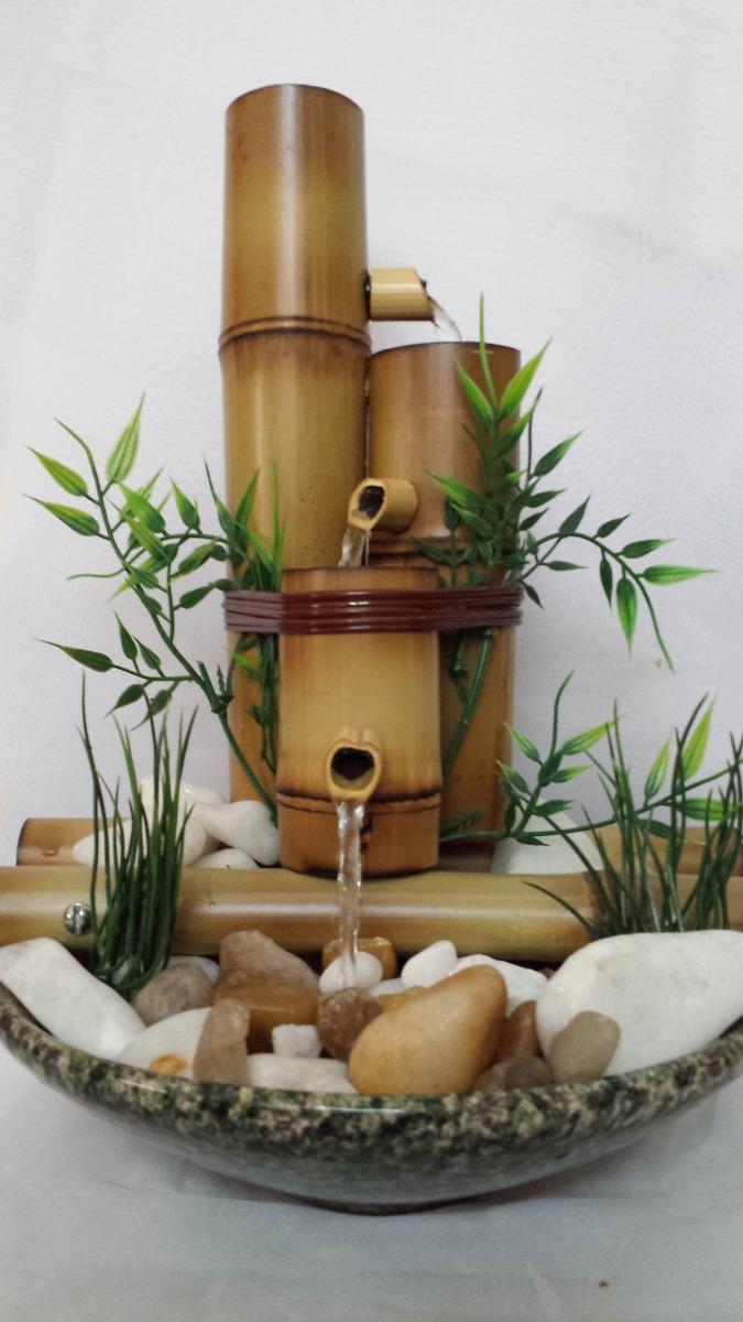 Outro modelo de fonte, com pedras e porcelana