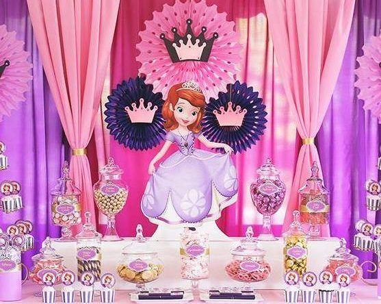 Festa Princesa Sofia: 60 ideias de decoração e fotos do tema