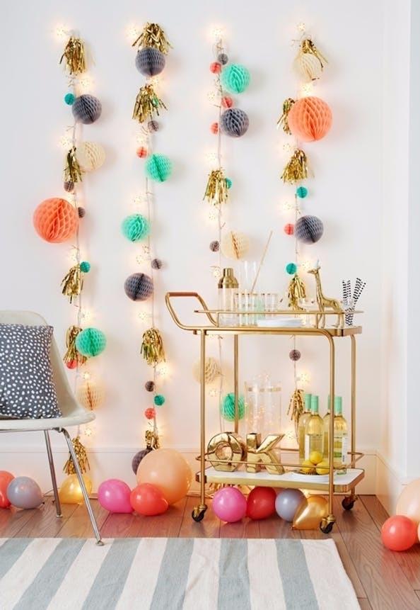 Decoração de Natal simples e barata colorido