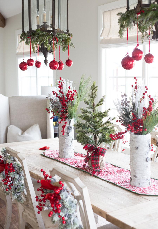 decora o de natal simples e barata 60 ideias criativas com fotos. Black Bedroom Furniture Sets. Home Design Ideas