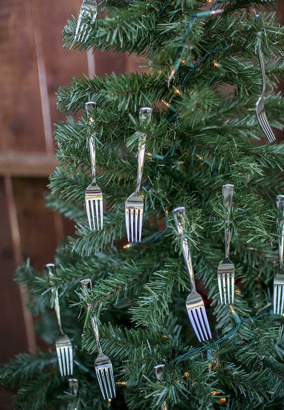 Árvores de Natal criativas e diferentes.
