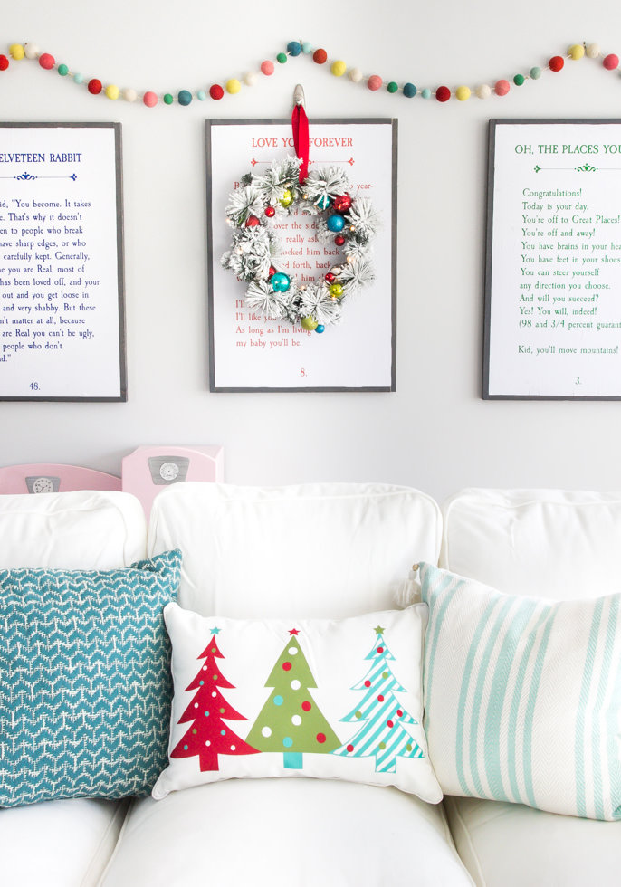 Colorido como todo o Natal deve ser!