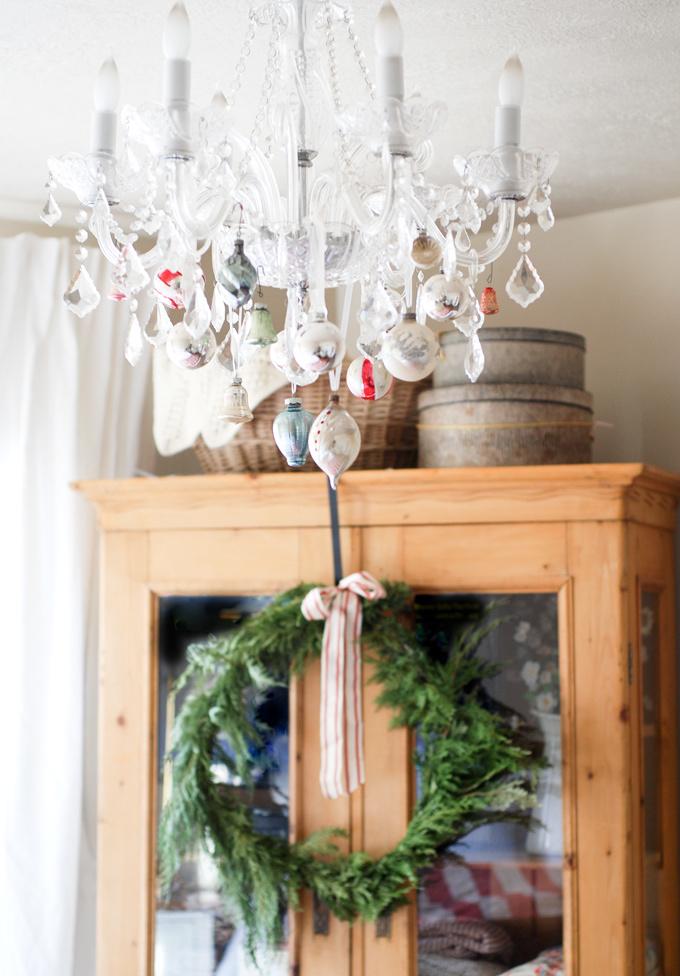 Ornamentos no lustre incrementam qualquer ambiente!