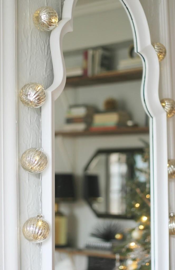 Como decorar espelho para o Natal?