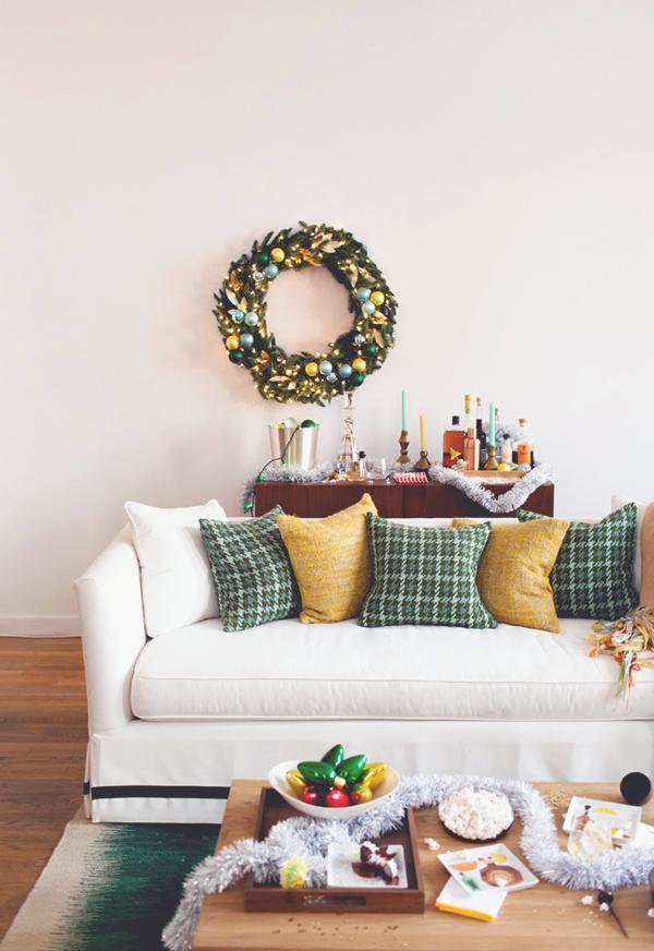 Decoração de Natal simples e fácil de fazer.