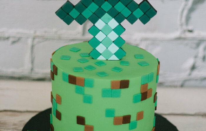 Bolo Minecraft: 60 ideias com fotos e passo a passo fácil