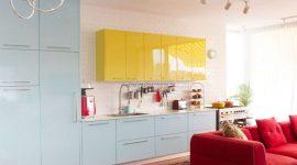 Cores para cozinha: 40 ideias, dicas e combinações