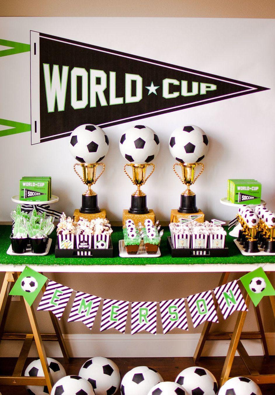 4f45da8a2 Festa Futebol  60 Ideias de Decoração com Fotos do Tema