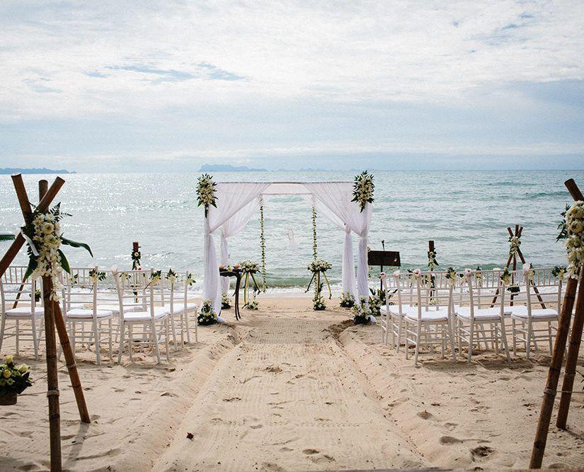 Decoraç u00e3o de Casamento na Praia 60 Ideias, Fotos e Como Fazer # Decoração De Casamento Na Praia